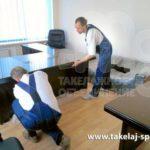 Перевозка офисной мебели СПб