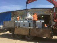 такелаж и монтаж станка для лазерной резки металла в санкт петербурге