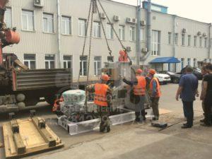 Транспортировка, установка и расстановка токарного станка на производстве